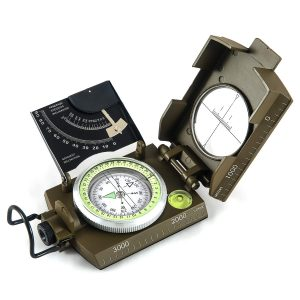 EyesKey Multifunctional Military Compass With Inclinometer