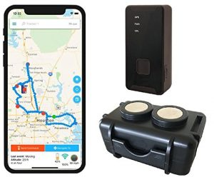 GPS Tracker - Optimus 2.0 Bundle With Twin Magnet Case